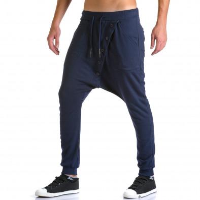 Ανδρικό γαλάζιο παντελόνι jogger Devil Slayer ca260815-24 4
