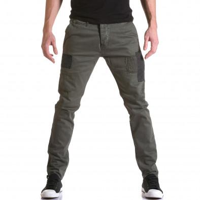 Ανδρικό πράσινο παντελόνι Y-Two it031215-17 2