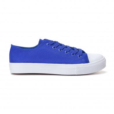 Ανδρικά γαλάζια sneakers Bella Comoda it250118-1 2