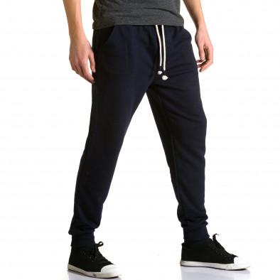 Ανδρικό γαλάζιο παντελόνι jogger Enos ca190116-32 4