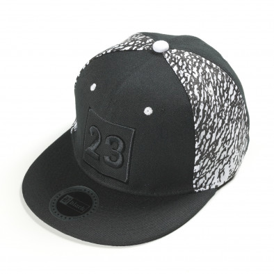 Ανδρικό μαύρο καπέλα FM it300318-5 2