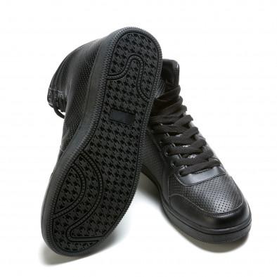 Ανδρικά μαύρα sneakers Niadi it211015-1 4