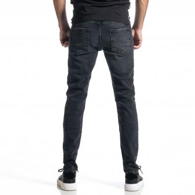 Ανδρικό μαύρο Long Slim tr010221-29 3