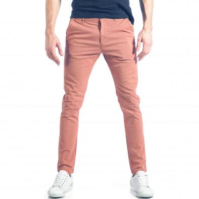 Ανδρικό ροζ παντελόνι XZX-Star it290118-35 2