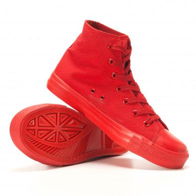 Ανδρικά κόκκινα sneakers Bella Comoda it260117-37 4