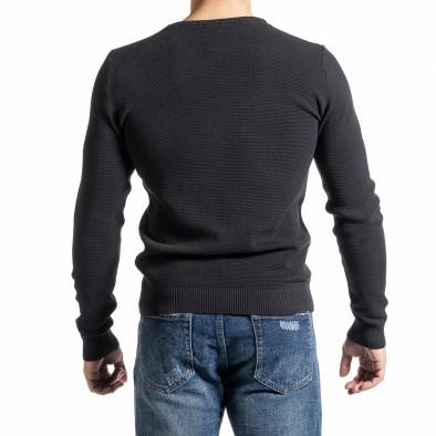 Ανδρικό γκρι πουλόβερ Code Casual tr231220-5 3