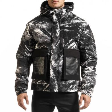 Ανδρικό καμουφλαζ χειμωνιάτικο μπουφάν X-Feel it301020-11 2