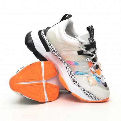 Γυναικεία λευκά sneakers Sense8 tr180320-13 4