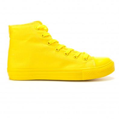 Ανδρικά κίτρινα sneakers Bella Comoda it260117-36 2