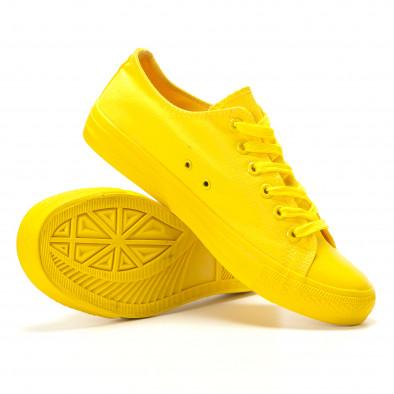 Ανδρικά κίτρινα sneakers Bella Comoda it260117-39 4