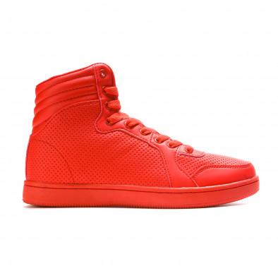 Ανδρικά κόκκινα sneakers Niadi it211015-2 2