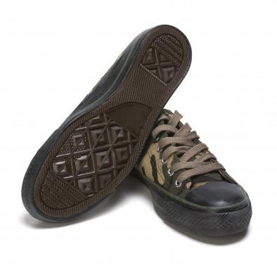 Ανδρικά καμουφλαζ sneakers Mapleaf it210415-23 4