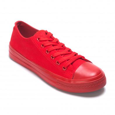 Ανδρικά κόκκινα sneakers Bella Comoda it260117-38 3