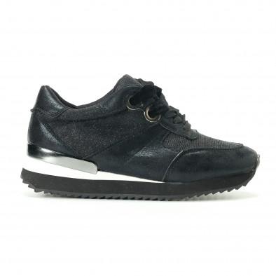 Γυναικεία μαύρα αθλητικά παπούτσια Melissa it200917-24 2