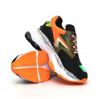 Γυναικεία μαύρα sneakers Sense8 tr180320-15 4