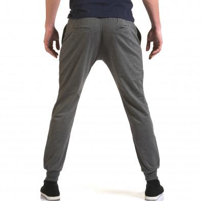 Ανδρικό γκρι παντελόνι jogger Belmode it090216-43 3