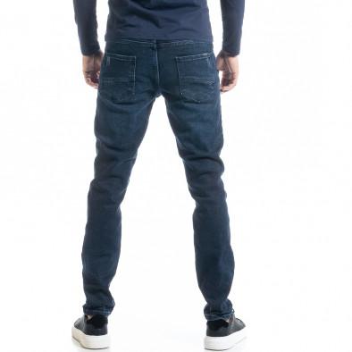 Ανδρικό μπλε τζιν Long Slim tr300920-1 3
