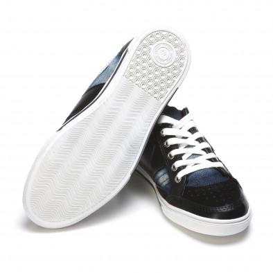 Ανδρικά γαλάζια sneakers Staka it110315-11 4