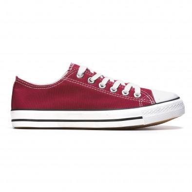 Ανδρικά κόκκινα sneakers Dilen It050216-2 2