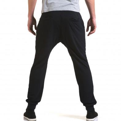 Ανδρικό γαλάζιο παντελόνι jogger Dress&GO it090216-40 3