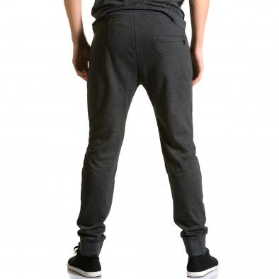 Ανδρικό μαύρο παντελόνι jogger Furia Rossa ca190116-16 3
