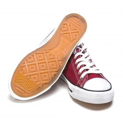 Ανδρικά κόκκινα sneakers Dilen It050216-2 4