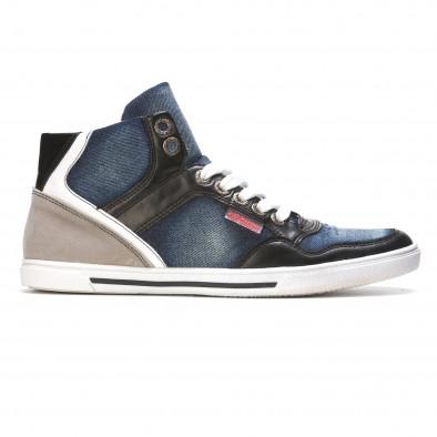 Ανδρικά γαλάζια sneakers Staka It050216-15 2