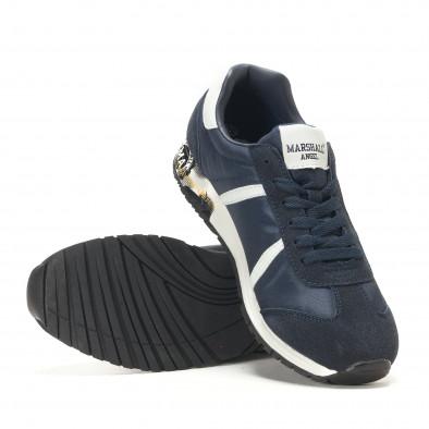 Ανδρικά γαλάζια αθλητικά παπούτσια Marshall it291117-37 4
