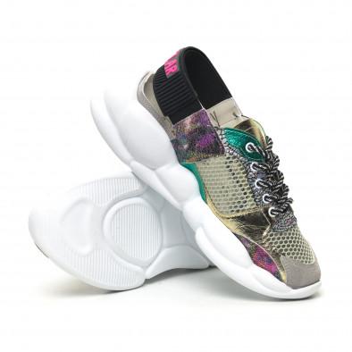 Γυναικεία πολύχρωμα sneakers Bodrum tr180320-10 4