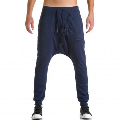Ανδρικό γαλάζιο παντελόνι jogger Devil Slayer ca260815-24 2
