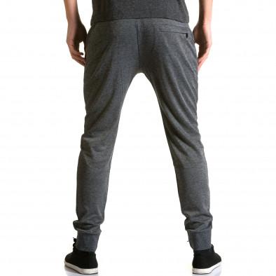 Ανδρικό γκρι παντελόνι jogger Furia Rossa ca190116-15 3