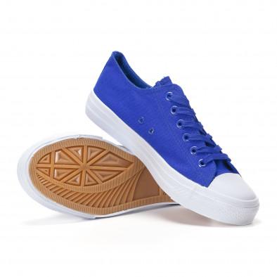 Ανδρικά γαλάζια sneakers Bella Comoda it250118-1 4