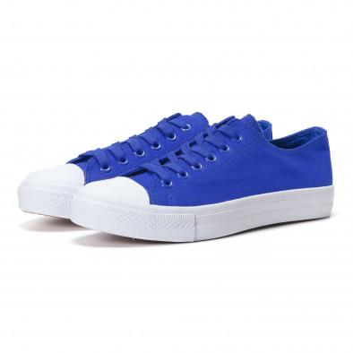 Ανδρικά γαλάζια sneakers Bella Comoda it250118-1 3