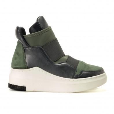 db28a90a14 Γυναικεία πράσινα μποτάκια R s it200917-52 - Fashionmix.gr