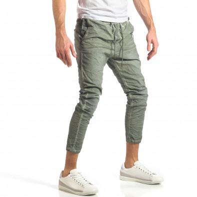 Ανδρικό πράσινο παντελόνι Y-Two it290118-3 3