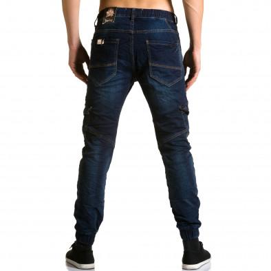 Ανδρικό γαλάζιο τζιν Justing ca190116-8 3