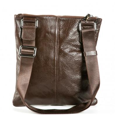 Ανδρικό καφέ τσαντες Fashionmix 1236-brown 3