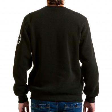 Ανδρική μαύρη μπλούζα Aosen hn240815-57 3