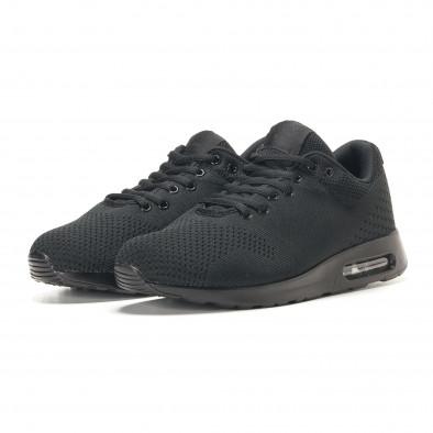 Ανδρικά μαύρα αθλητικά παπούτσια Kiss GoGo it291117-15 3