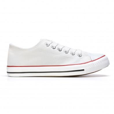 Ανδρικά λευκά sneakers Dilen it170315-13 2