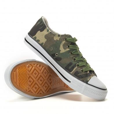Ανδρικά καμουφλαζ sneakers Osly it260117-34 4