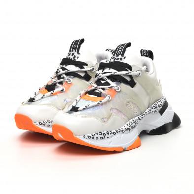 Γυναικεία λευκά sneakers Sense8 tr180320-13 3