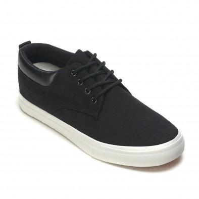 Ανδρικά μαύρα sneakers Garago it170315-14 3