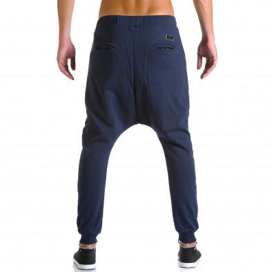 Ανδρικό γαλάζιο παντελόνι jogger Devil Slayer ca260815-24 3