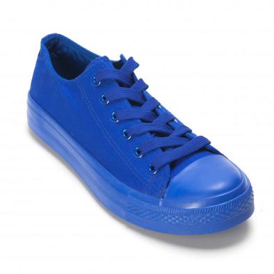 Ανδρικά γαλάζια sneakers iv220420-2 3