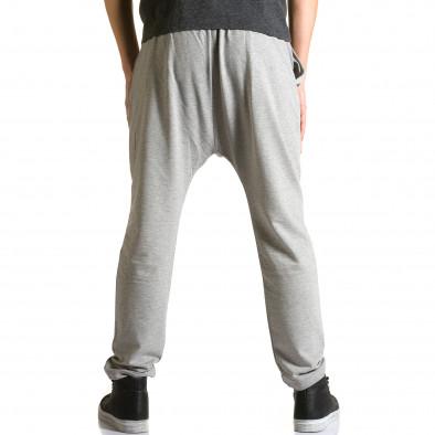 Ανδρικό γκρι παντελόνι jogger The Power ca110215-8 3