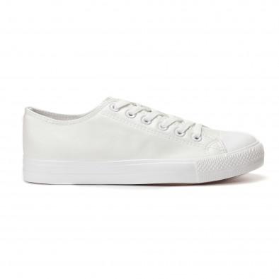 Ανδρικά λευκά sneakers Bella Comoda it250118-4 2