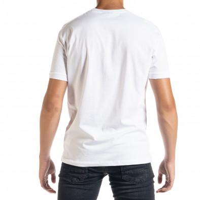 Ανδρική λευκή κοντομάνικη μπλούζα Freefly tr010720-31 3