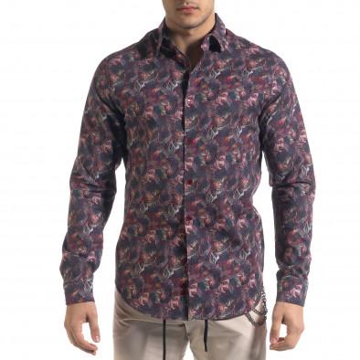 Ανδρικό πολύχρωμο πουκάμισο Open tr110320-100 2