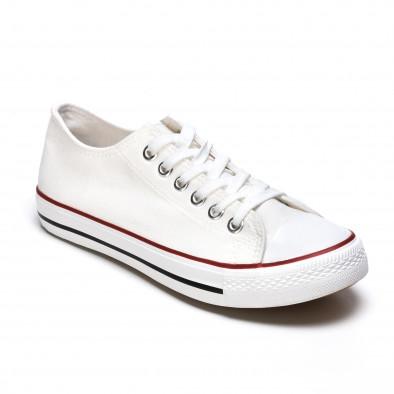 Ανδρικά λευκά sneakers Dilen it170315-13 3